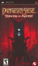 Dungeon Siege: Throne of Agony Sony PSP COMPLETE Game+Case+Manual