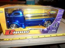 1:24 SCALE D Rods 1947 Ford Coe Rollback Truck with sliding bed Jada Toys in Box