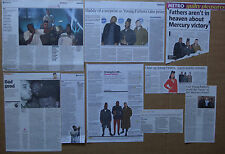 Young Fathers - clippings/cuttings/articles pack
