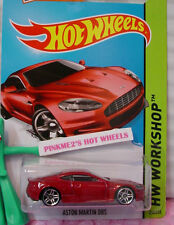Case C/D 2015 Hot Wheels ASTON MARTIN DBS #250 US☆Red;pr5☆Workshop☆Then and Now