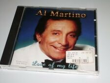 AL MARTINO LOVE OF MY LIFE CD 2001 MIT COME SHARE THE WINE / HIT MEDLEY (YZ)