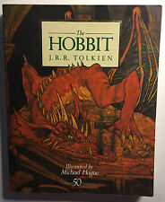 THE HOBBIT By J.R.R. Tolkein Illustrated By Michael Hague 1984 Italy SC