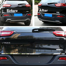 Steel Rear Door Tail Gate Trunk Bottom Cover Trim For JEEP CHEROKEE 2014-2016