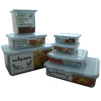 Food Storage Plastic Container Box Lunch Dinner 300ml - 4.2Ltr - Choose Size