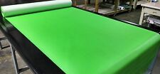 """5 YARDS NEON GREEN MARINE OUTDOOR AUTO FABRIC BOAT UPHOLSTERY 54""""WIDE VINYL"""