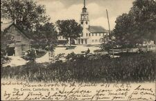 Canterbury NH Shaker Town - The Centre c1905 Postcard