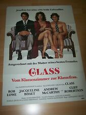 CLASS - Kinoplakat A1 ´84 - ROB LOWE Jacqueline Bisset