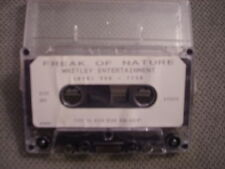 VERY RARE Freak Of Nature DEMO CASSETTE TAPE White Lion DIO House Of Lords LION
