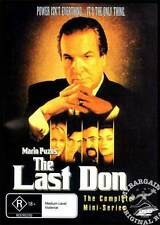 New!!! The Last Don DVD (by Mario Puzo) UK Seller Gangster Movie Mafia Godfather