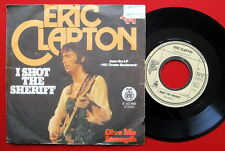 """ERIC CLAPTON I SHOT THE SHERIFF/GIVE ME STRENGTH 1974 RTB EXYU 7"""" PS"""