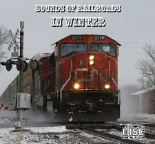 Train Sounds On CD: Sounds Of Railroads In Winter