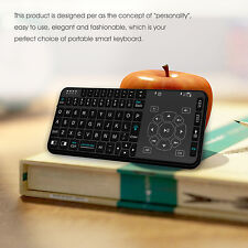 Rii RT504 Wireless Mini Handheld Remote Multimedia Keyboard For Android TV Box