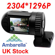 XHD 1296P Car Camera DVR Ambarella A7 Pro Mini 0805 Dash Cam GPS Logger UK STOCK