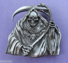 Skull Death Goth Belt Buckle