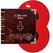 Venom - At War With Satan 2 x 180g RED COLOURED vinyl Expanded Edition