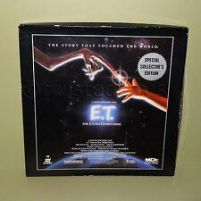 1989 E.T. THE EXTRA-TERRESTRIAL SPECIAL COLLECTOR'S EDITION LASER DISC SET BOXED