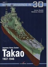 Japanese Heavy Cruiser Takao 1937-1943 - Super Drawings in 3D - Kagero