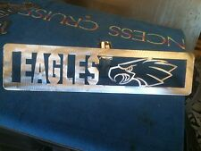 Plasma Cut Eagles Plaque metal Sign mancave/ Wall Decor