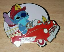 Disney Auctions STITCH Fireman Chief Fire Engine Pedal Car LE pin 1000