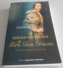 LYNDA RUTLEDGE / LE DERNIER VIDE GRENIER  ..Ed originale 2012
