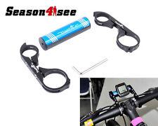 TrustFire Carbon Bike Bicycle Handle Bar Extender Mount Lamp Bracket Holder BK