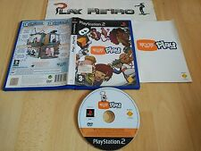 PLAY STATION 2 PS2 EYETOY PLAY COMPLETO PAL ESPAÑA