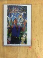 2013 New Orleans Jazz Fest Poster Postcard Aaron Neville James Michalopoulos