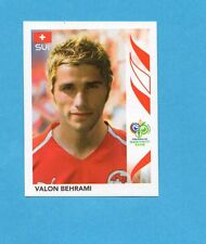 PANINI-GERMANY 2006-Figurina n.488- BEHRAMI - SVIZZERA -NEW BLACK