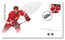 CANADA 2016 GREAT CANADIAN NHL FORWARDS -  STEVE YZERMAN FIRST DAY COVER