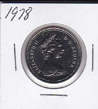 1978 Canada Nickel 50 Cent coin From Double Dollar Set