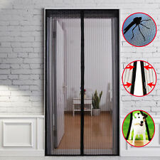 Magnetic Insect Door Net Screen Bug Mosquito Fly Snap Insect Mesh Guard Curtain