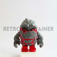 LEGO Minifigures - 1x pm003 - Meltrox - Power Miners Omino Minifig Rock Monster