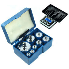 8 pcs 1000g 1kg calibration weight set with free HB-02 500g x 0.1g digital scale