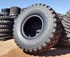 "1 MICHELIN XZL+ 46"" 395/85 R20 MILITARY 6X6 M35 MRAP MUD TRUCK TIRE 100% TREAD"