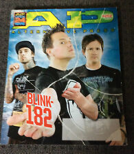 ALTERNATIVE PRESS Magazine Blink 182 Cover July 2009 #252 Bouncing Souls
