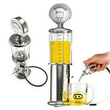 New Glitzy Tage Fill 'er Up Gas Pump Bar Drinking Alcohol Liquor Dispenser