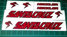Santa Cruz Nomad Heckler Bullit Superlight Bike Decals Sticker Set of 6 MTB DH
