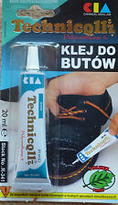 STRONG ADHESIVE GLUE FOR SHOES LEATHER,RUBBER FELT NYLON LEATHERETTE FABRICS new