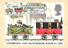 B99466 liverpool and manchester railway 1830 uk   train railway oldtimer