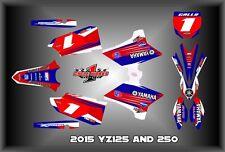 2015 YAMAHA YZ125 YZ250 SEMI CUSTOM GRAPHICS KIT JR