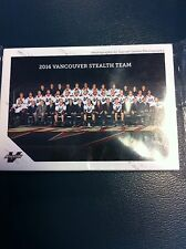 2016 VANCOUVER STEALTH NLL FACTORY SEALED TEAM SET NATIONAL LACROSSE LEAGUE LAX