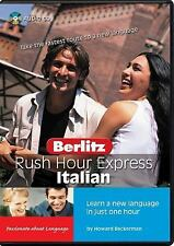 Rush Hour Express: Italian (2004, CD)