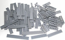 85 LEGO brand new light bluish gray - lot lego PLATES building bricks castle