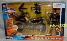 Power Rangers Dino Thunder BLACK Hovercraft Cycle Ranger New