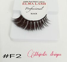 3D Real Mink Eyelashes Makeup Thick Black Eye Lashes #F2