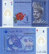 MALAYSIA 1 RINGGIT 2012 UNCIRCULATED POLYMER P.51
