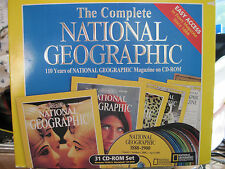 National Geographic Magazine 110 Years 31 CD-ROM Set