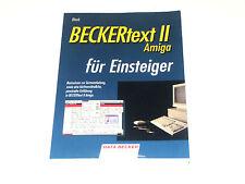 Amiga BECKERtext II für Einsteiger   Data Becker Buch (Z2G021)