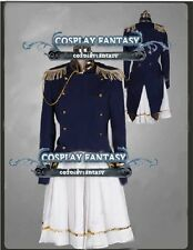 Axis Powers Hetalia APH Japanese Military Cosplay female Costume Uniform