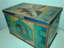 Scatola litografata Luigi Rossa vintage antica Tin box